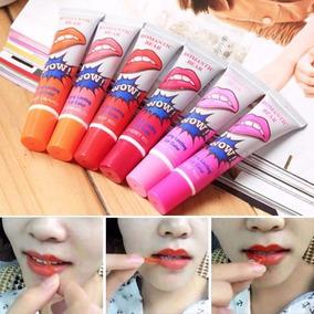 Lip Tattoo Gloss 24hs - Batom Adesivo Wow - Pronta Entrega