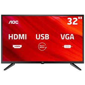 Tv Led 32 Aoc Hd Le32m1475 Integrado Bivolt