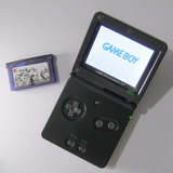 Gba K1 - Gameboy Advance Sp C/ Flashcart Y Cable Audio