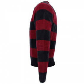 Lacoste Sweater Hombre, Cuello Redondo Tejido Hilo