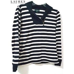 Blusa Para Dama A Rayas ~ Lauren By Ralph Lauren ~ #1343