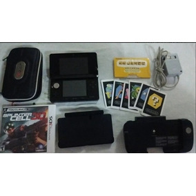 Nintendo 3ds, Circle Pad, Bolsa E Cart Original E Flash