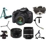 Camara Profesional Canon Rebel T2i+ Accesorios