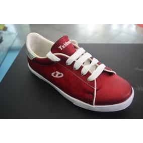Zapato Deportivo Dama Tabbuche Rojo