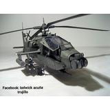 Helicóptero De Guerra De 65 Cm De Largo Pvc Pet