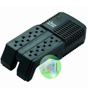 Regulador De Voltaje Automatico Omega 8 Tomas Pc Tv Laptop