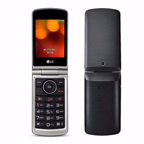 Celular Lg Flip Abre Fecha Bluetooth Tela Grande Envio Hoje
