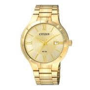 Reloj Hombre Citizen Bi502250p Dorado Clasico Wr 50m
