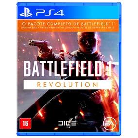 Battlefield 1 Revolution Fisica Ps4 Todo Português Lacrado