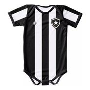 Body Botafogo Proteção Uv Listrado Oficial