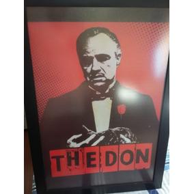 Quadro - Poderoso Chefão - The Don - Don Corleone