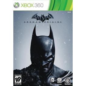 Jogo Mídia Física Batman Arkham Origins Para Xbox 360 Ntsc