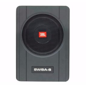 Caixa Amplificada Slim Jbl Sw8a-s 3 Canais C/ Sub 8 200w Rms