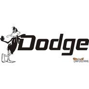 Calcomanía Dodge 05 - 30 X 14 Cm Graficastuning