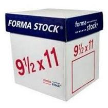 Papel Formastock Blanco 9.5 X 11 3 Tanto C/1000 Remate