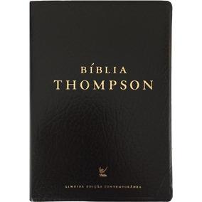 Bíblia De Estudo Thompson Almeida Contemporânea Preta