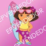 20 Sticker Adhesivos Dora La Exploradora - Calcomanias 5x5