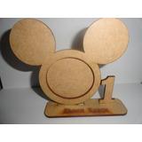 60 Porta Retrato Mickey -enfeite De Mesa - Lembrancinha