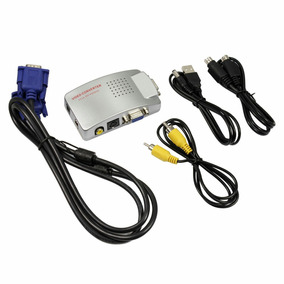Convertidor De Video Vga A Rca Para Pc,laptop,video Been.