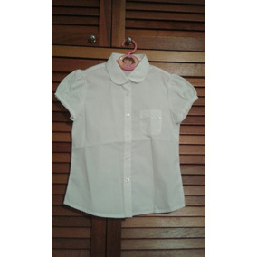Shemise Franela Camisa Blusa Blanca Talla 7 8 Años Importada