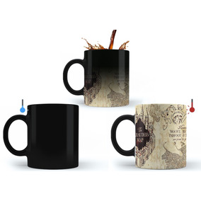 Caneca Mágica Harry Potter Mapa Do Maroto - Mega Oferta!!!