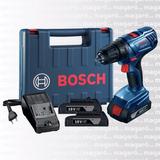 Atornillador Bosch Gsr 1800-li 2 Baterias Cargador Maletin