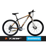 Bicicleta Aro29 Tsw Ride 27v Cambio Acera Suspensão C/ Trava