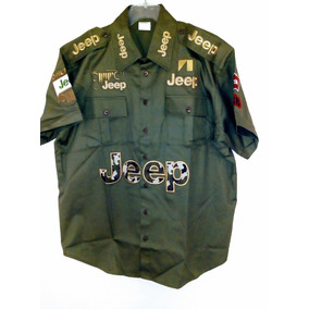 Camisa Jeep Verde Escuderia Caballeros Nascar Racing