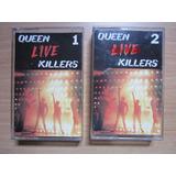 Cassette Queen - Live Killers (album Doble) Emi Odeon Chile