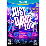 Just Dance 2018 Fisico Nuevo Nintendo Wii U Dakmor