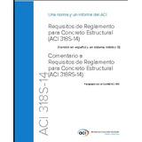 Requisitos Aci 318-14 Español/ingles Pdf