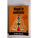 Libro Manual De Meditacion De Jack Schwartz