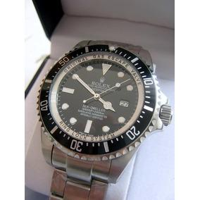 Reloj Acero Cara Negra Deepsea Automatico Ceramico