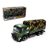 Camion Militar A Friccion
