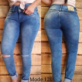 Jeans Nuevos Modelos Studio Levanta Cola Strhes Corte Alto