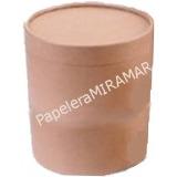 Potes Carton Caja Cuñete Dulce De Leche 3kg 15x15cm (c/u)