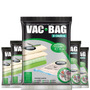 Combo: 5 Saco A Vácuo Protetor Vac Bag 80 X 100 Ordene Extra