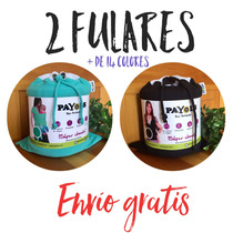 2 Fulares/rebozos/portabebé De Algodón Elástico Payols