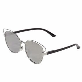 518ba2a5db86f Oculos Prata Espelhado Redondo - Óculos no Mercado Livre Brasil