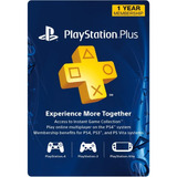 1 Año Playstation Plus Membresia - Ps3/ Ps4/ Ps Vita Digital
