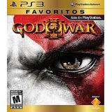 God Of War 3 Ps3, Favoritos, Nuevo Y Sellado
