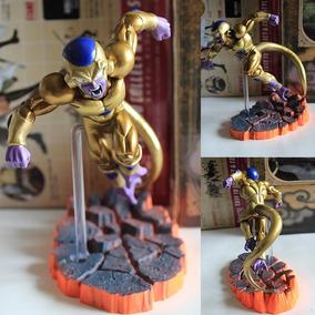 Freeza Dourado Action Figure Boneco Dragon Ball Na Caixa
