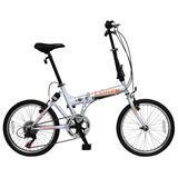 Bicicleta Lahsen Plegable Spirit Alloy Aro 20