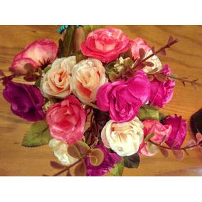 10 Ramos De Flores Artificiales