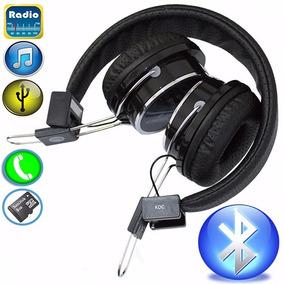 Fone Ouvido Headphone Fm Bluetooth Conecta Smart Tv Sem Fio