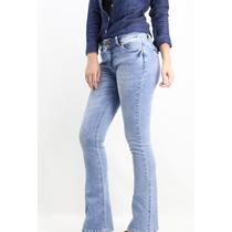Calça Flare Jeans Claro Revanche