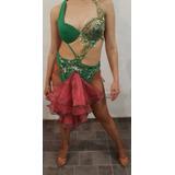 Traje - Vestuario De Baile De Ritmos Caribeños - Salsa