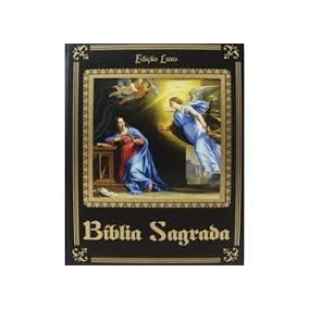 Bíblia Sagrada Edição De Luxo Grátis Cd Padre Marcelo Rossi