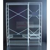 Closet Metal Resistente Desarmable Nacional Garantia 150 Cm