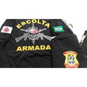 Camisas Bordadas Escolta Armada.